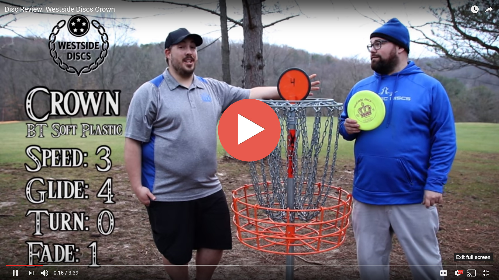 Westside Discs Crown Disc Review