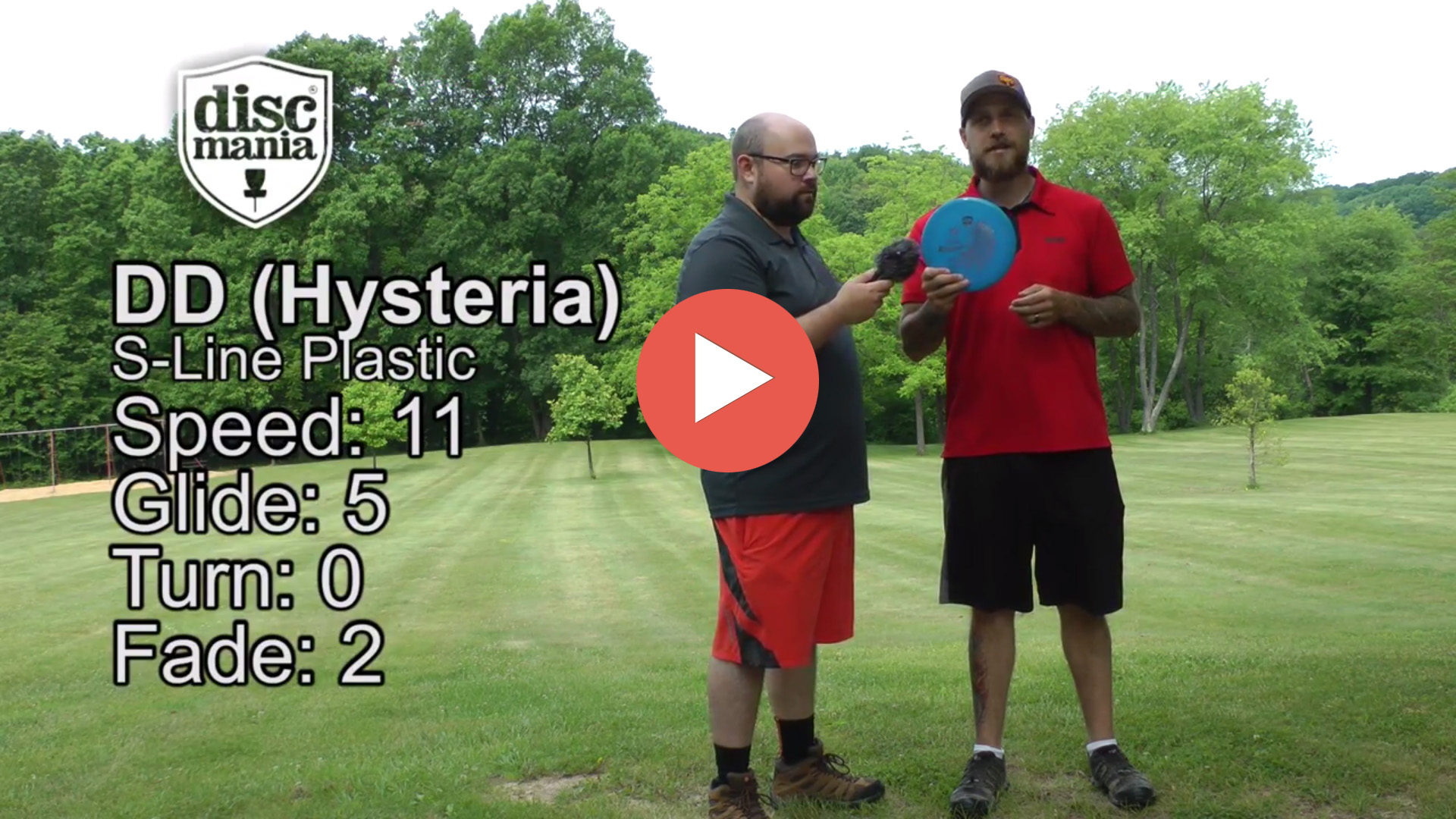 DiscMania DD Hysteria Disc Review
