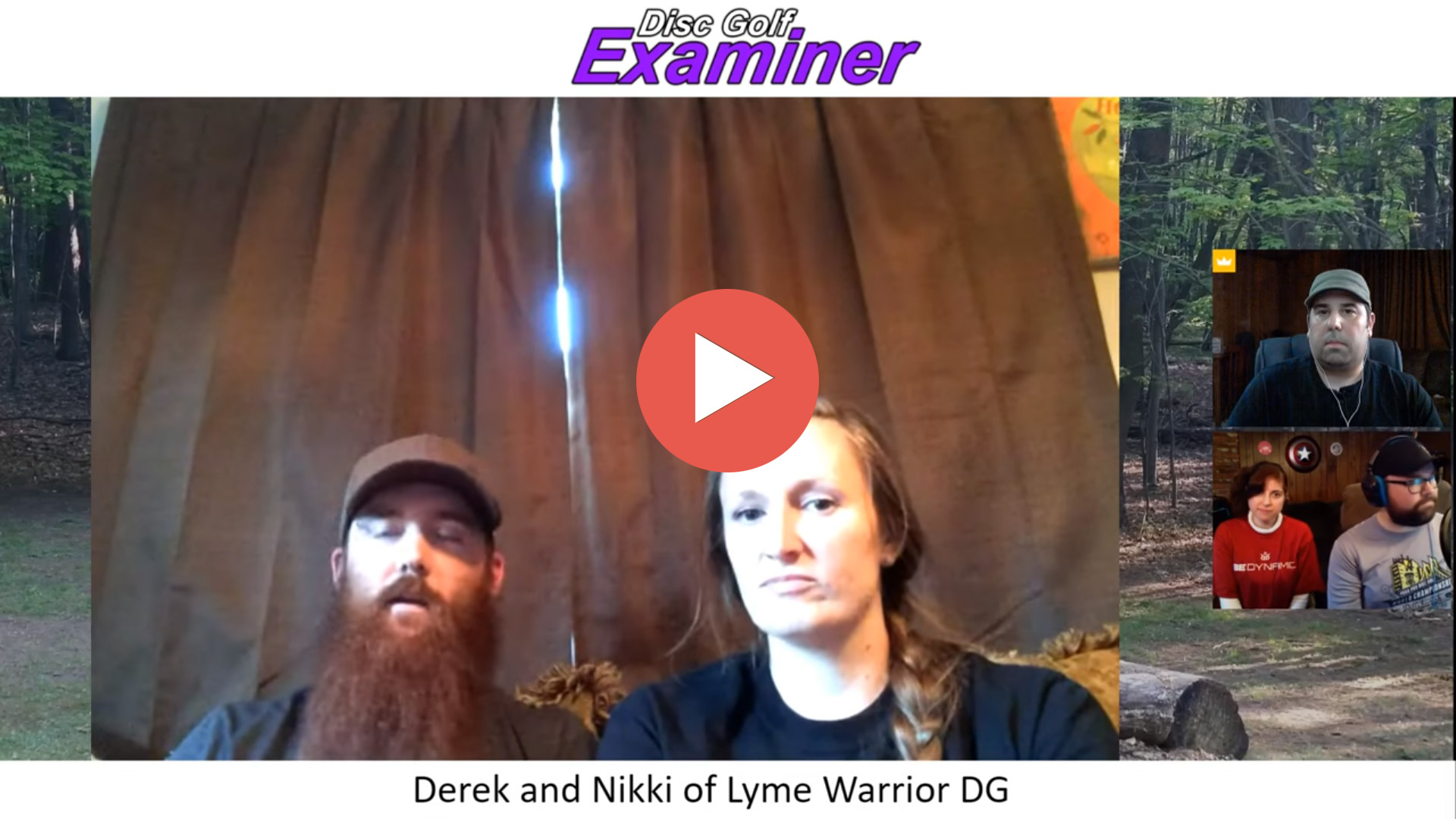 Derek and Nikki of Lyme Warrior DG