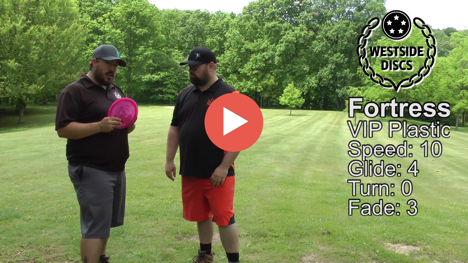 Westside Discs VIP Fortress Disc Review
