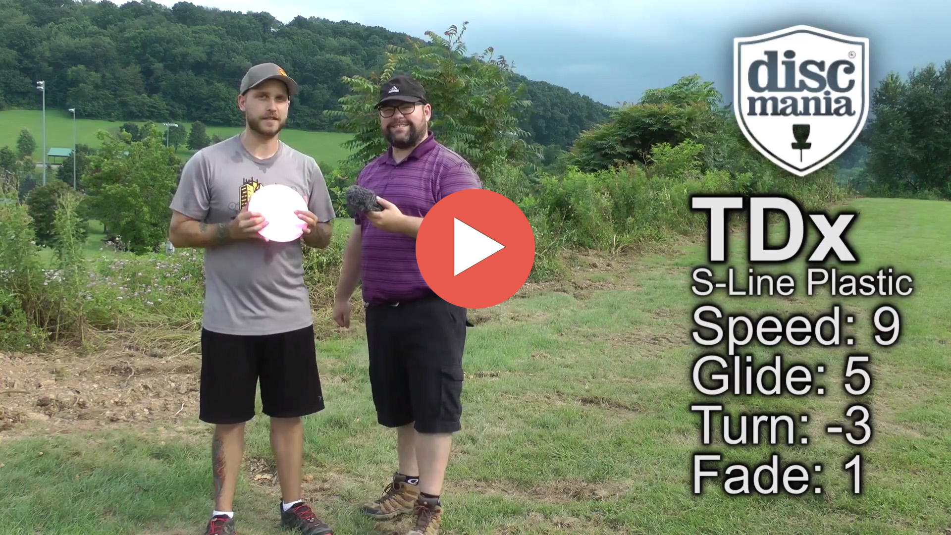 Discmania TDx in S-Line Plastic Review – First Look