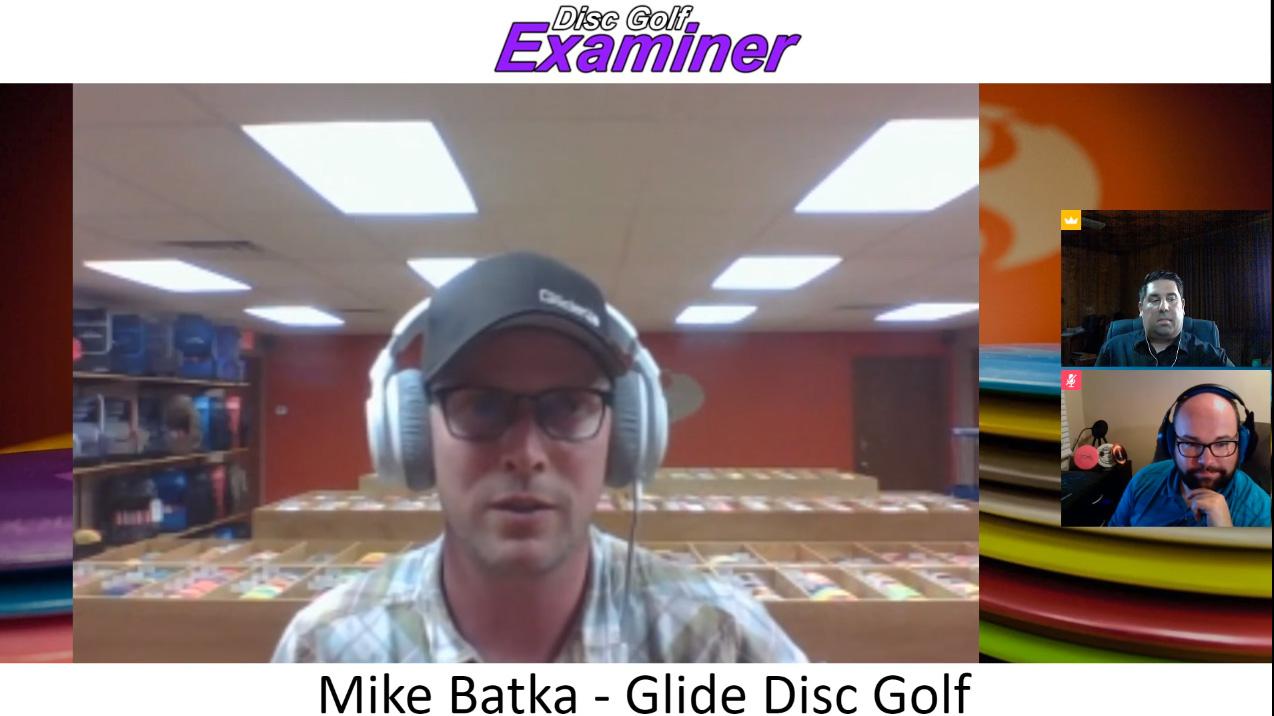 Mike Batka of Glide Disc Golf