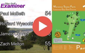 Round 2 PFDO Disc Golf