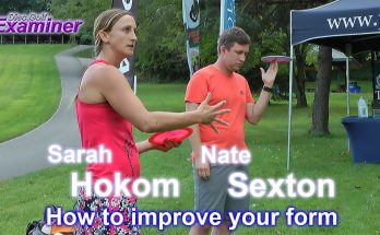 Disc Golf Driving Clinic with Nate Sexton and Sarah Hokom