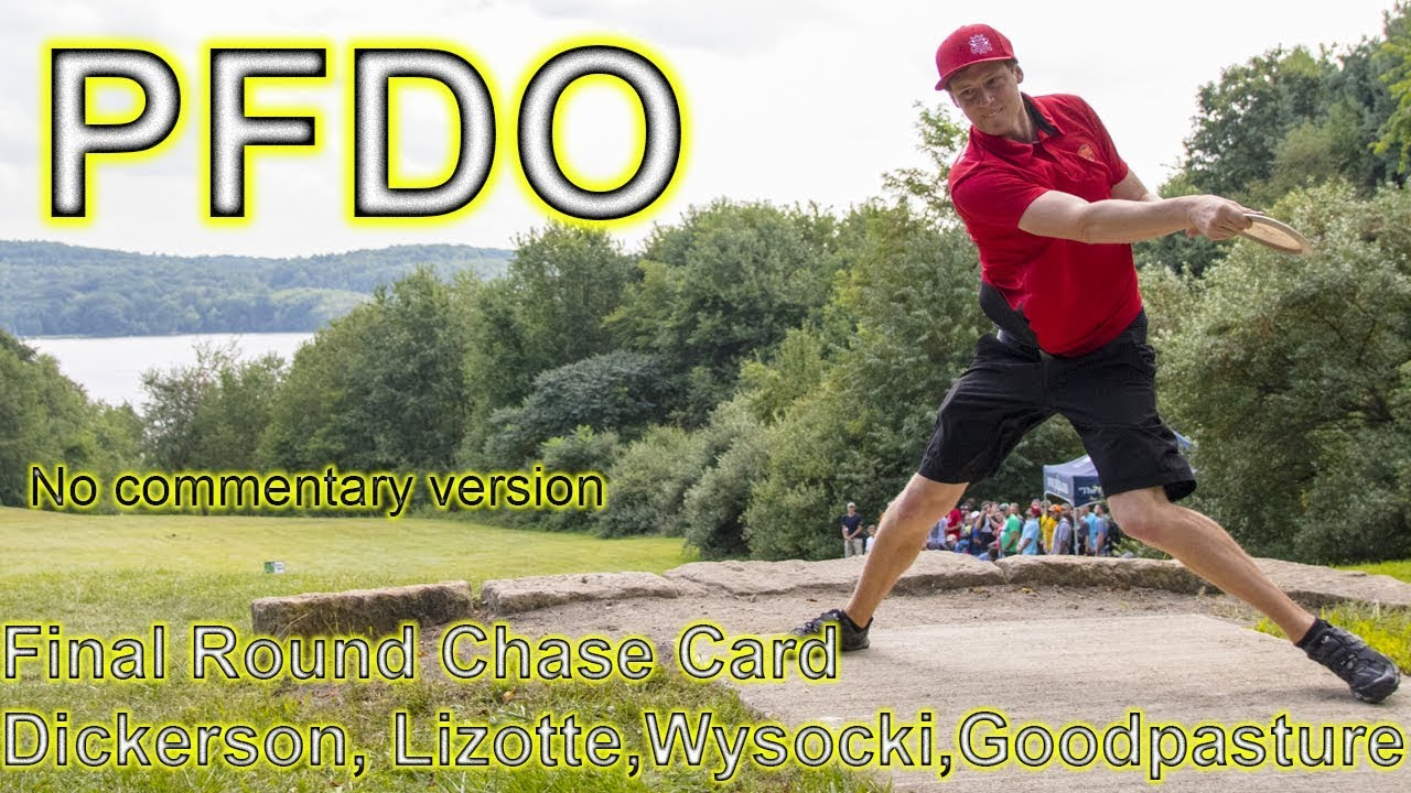 PFDO Final Round Chase Card Disc Golf