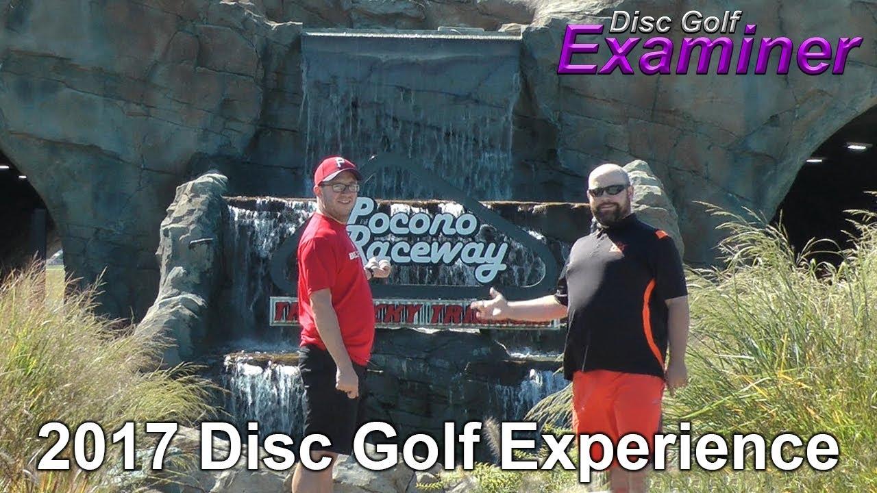 Pocono Raceway Disc Golf Experience