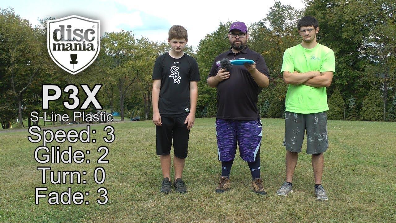 Discmania P3x Disc Golf Review