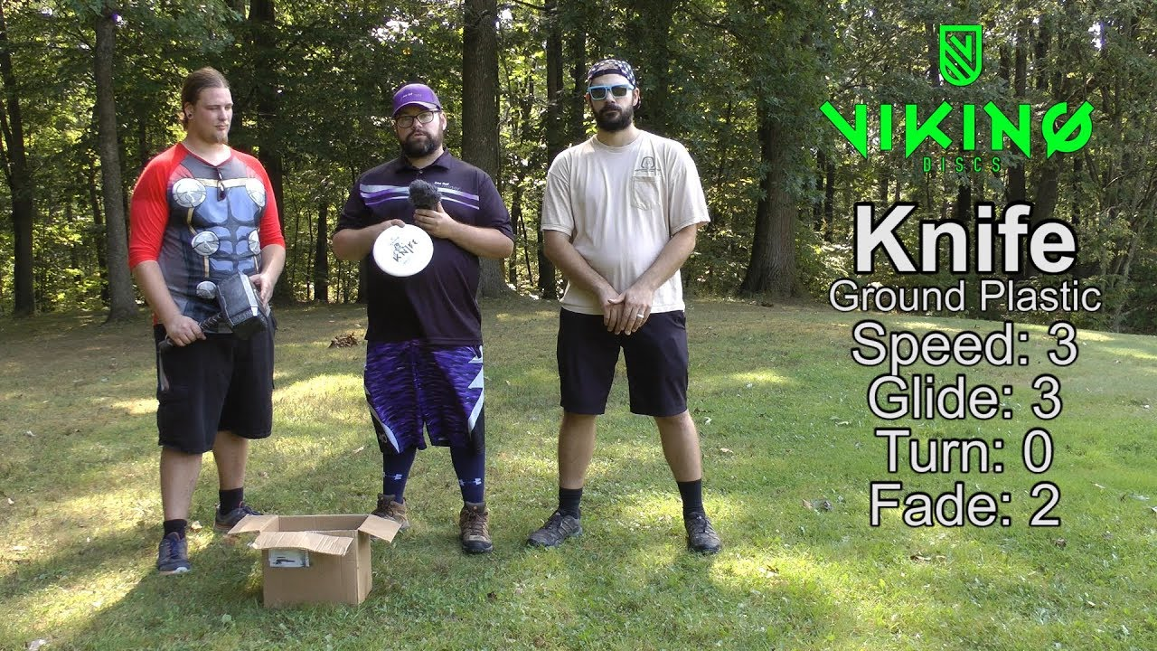 Viking Discs Knife Putter Review