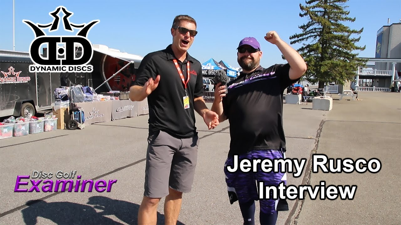 Jeremy Rusco Interview of Dynamic Discs