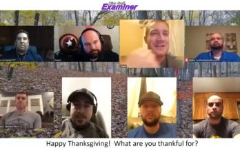 Happy Thanksgiving from the Disc Golf Community