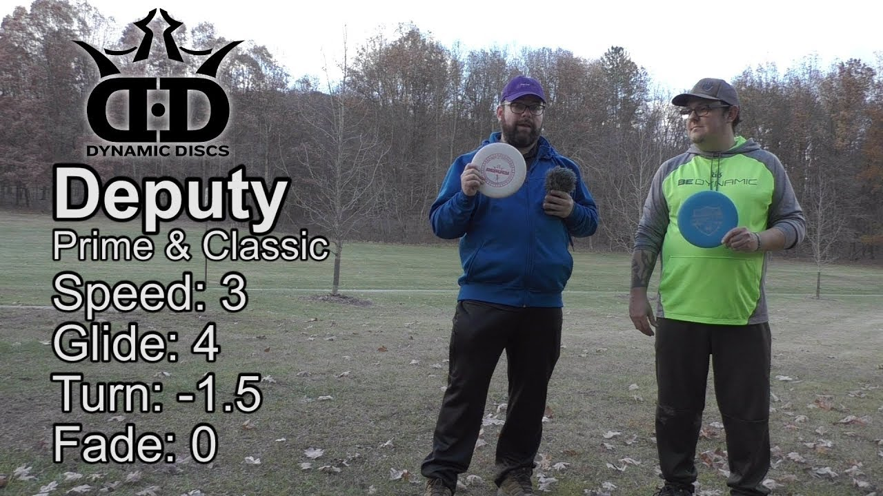 Dynamic Discs Deputy Disc Review
