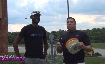 Engel Jones Plays Disc Golf