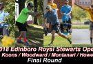 2018 Edinboro Royal Stewarts Open