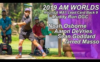 2019 AM Worlds MA1 Round 6 Back 9