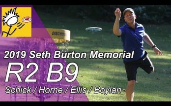 2019 Seth Burton Round 2 Back 9