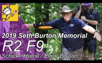 2019 Seth Burton Round 2 Front 9