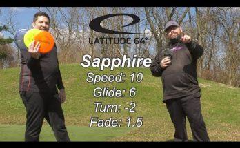 Latitude 64 Sapphire Fairway Driver in 3 Plastics