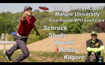 2019 Pioneer Open at Malone University