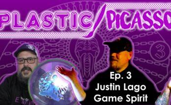 Justin Lago Plasitc Picasso - Disc Golf Artist