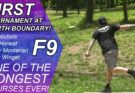 First Disc Golf Tournament at North Boundary in Cranberry PA