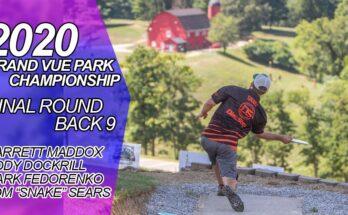 2020 Grand Vue Championship Final Back 9