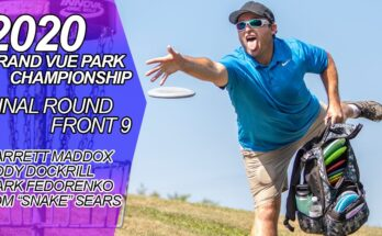 2020 Grand Vue Park Championship Final Round Front 9