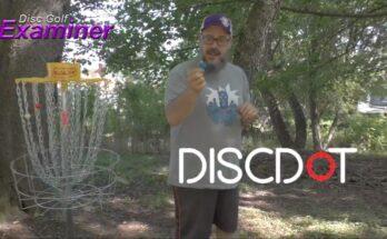 Discdot disc golf putting training tool