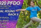 2020 PFDO FPO Final Round Back 9