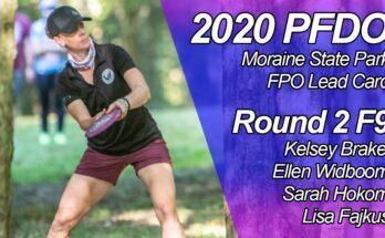 2020 PFDO FPO Lead Card - Round 2 Front 9